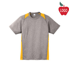 Sport-Tek Grey & Gold Short Sleeve Tee #ST361