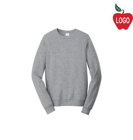 Gildan Sport Grey Crew Sweatshirt #18000