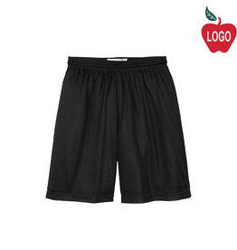 Sport-Tek P.E. Mesh Black Short