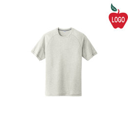 Sport-Tek Light Grey Short Sleeve Tee #ST400