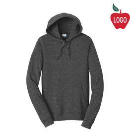 Port Authority Dark Heather Hood Sweatshirt #PC850H