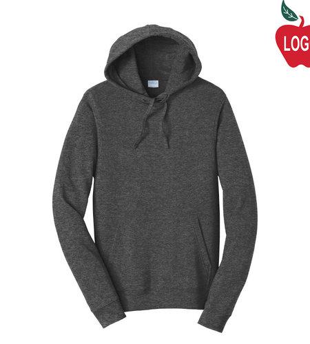 Port Authority Dark Heather Hood Sweatshirt #PC850H