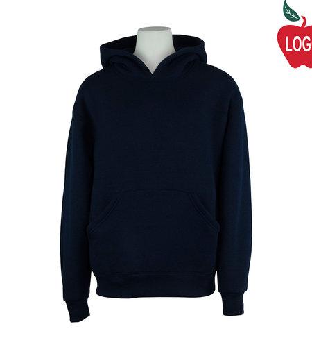 Soffe Navy Blue Hood Sweatshirt #9289