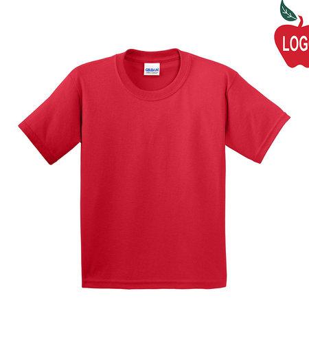 Hanes Red Short Sleeve Tee #5450