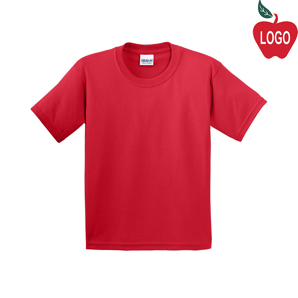 ef390ff06530 Hanes Red Short Sleeve Tee #5450 - Merry Mart Uniforms