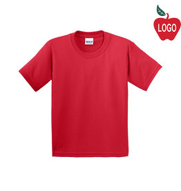 Gildan Cherry Red Short Sleeve Tee #2000