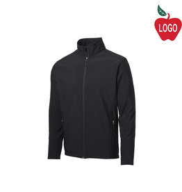 Port Authority Black Soft Shell Jacket #J317