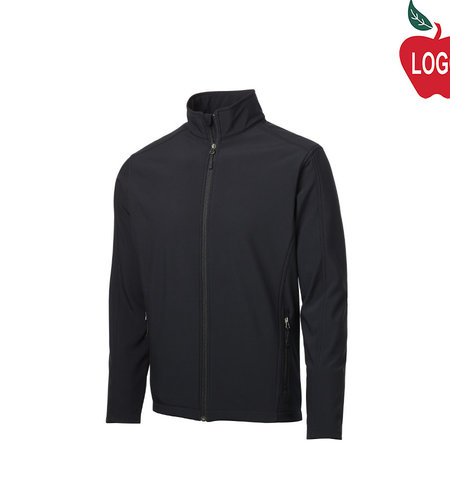 Port Authority Black Soft Shell Jacket #J317