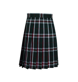 School Apparel A+ Sequoia Plaid Knife Pleat Skirt #1032
