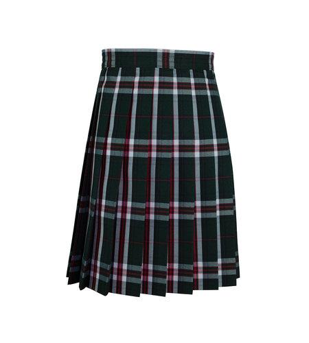 School Apparel A+ Sequoia Plaid Knife Pleat Skirt #1032