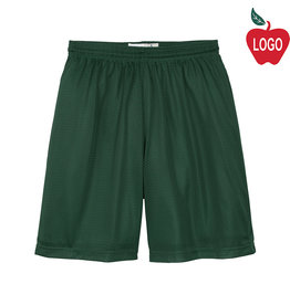 Sport-Tek Green Mesh Athletic Shorts #ST510