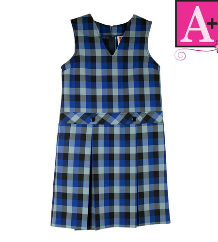 School Apparel A+ Hastings Plaid Jumper #1295PP