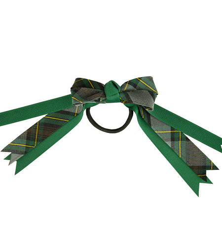 EE Dee Trim Harris Plaid Loop Bow #FBE78M