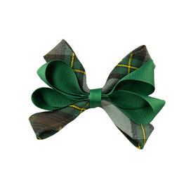 EE Dee Trim Harris Plaid Carnival Bow #FBE67