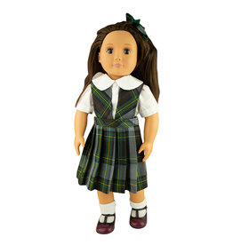 EE Dee Trim Harris Plaid Doll Jumper #FBE62P