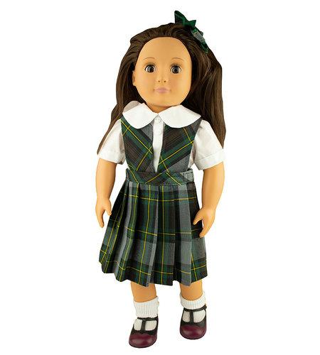 EE Dee Trim Harris Plaid Doll Jumper #FBE62P