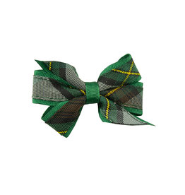 EE Dee Trim Harris Plaid Mini Bow #FBE1M