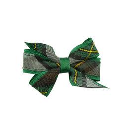 EE Dee Trim Harris Plaid Mini Bow #FBE1M