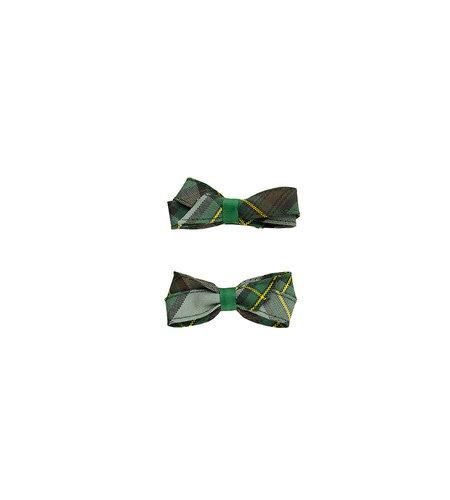 EE Dee Trim Harris Plaid Pigtail Bows #FBE164