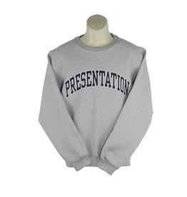 Hanes 82300 N18 Grey Crew Sweatshirt
