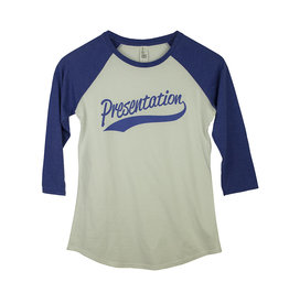 District Threads CC18 White/Royal Baseball T-Shirt