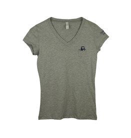 Bella B18 Grey Short Sleeve T-Shirt
