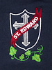 School Apparel A+ Dark Navy Short Sleeve Interlock Polo #8320