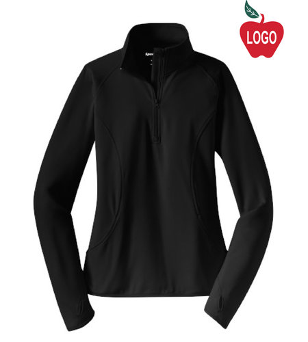 **NEW** Ladies 1/2 Zip Pullover Jacket #LST850