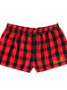 Boxercraft WEB|S20 FLANNEL SHORTS F42|PRESENTATION|RED/BLACK|