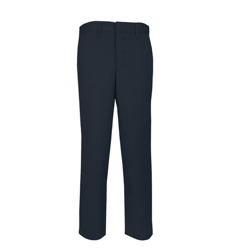 School Apparel A+ Boys Navy Plain Front Stretch Pant #7893