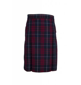 Dennis Uniform Hamilton Plaid 4-pleat Skirt #868