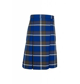 Rifle Graham Plaid 4-pleat Skirt #134