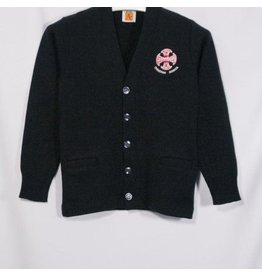 School Apparel A+ Navy Cardigan Sweater #6300