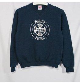 Soffe Navy Crew Sweatshirt #J9001