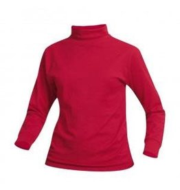 School Apparel A+ Red Jersey Knit Turtleneck #8100
