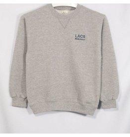 Soffe Oxford Grey Crew-neck Sweatshirt #9000