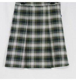 School Apparel A+ Plaid 2-Kick Pleat Skirt #061