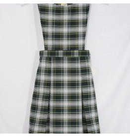 Rifle Pinafore Plaid Jumper #061