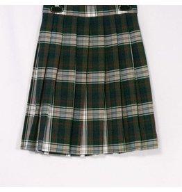 Rifle Plaid Knife Pleat Skirt #050
