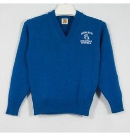 School Apparel A+ Mayfair Blue Pullover Sweater #6500