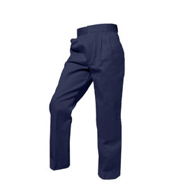 Rifle BOYS NAVY TWILL PLEATED FRONT ELASTIC BACK PANT