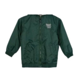 School Apparel A+ SUNNYVALE CHRISTIAN PERFORMER NYLON JACKET WITH EMBROIDERED LOGO