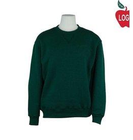 Soffe Green Crew Sweatshirt #9001