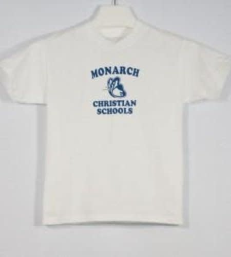 LOC  3301 TODDLER TEE SS  MONARCH WHITE 