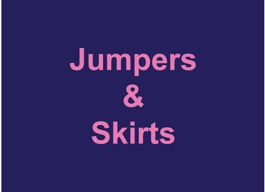 Jumpers & Skirts
