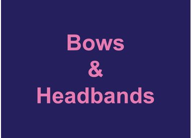 Bows & Headbands