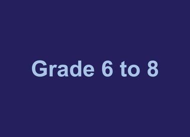 Grades 6 to 8