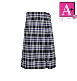 School Apparel A+ Plymouth Plaid 4-pleat Skirt #1034PP