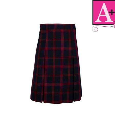 School Apparel A+ Cambridge Plaid 4-pleat Skirt #1034PP
