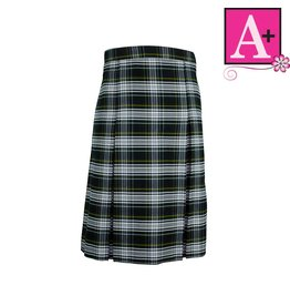 School Apparel A+ Campbell Plaid 4-pleat Skirt #1034PP